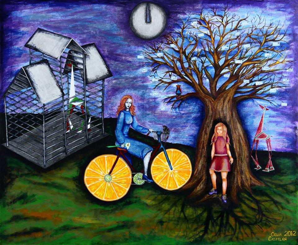 Cielitalinda pintora mexicana, de Veracruz Una artista veracruzana, Celia Castelán, autora de pinturas llenas de admirables imágenes, vivos y hermosos colores que expresan la riqueza natural y humana de México