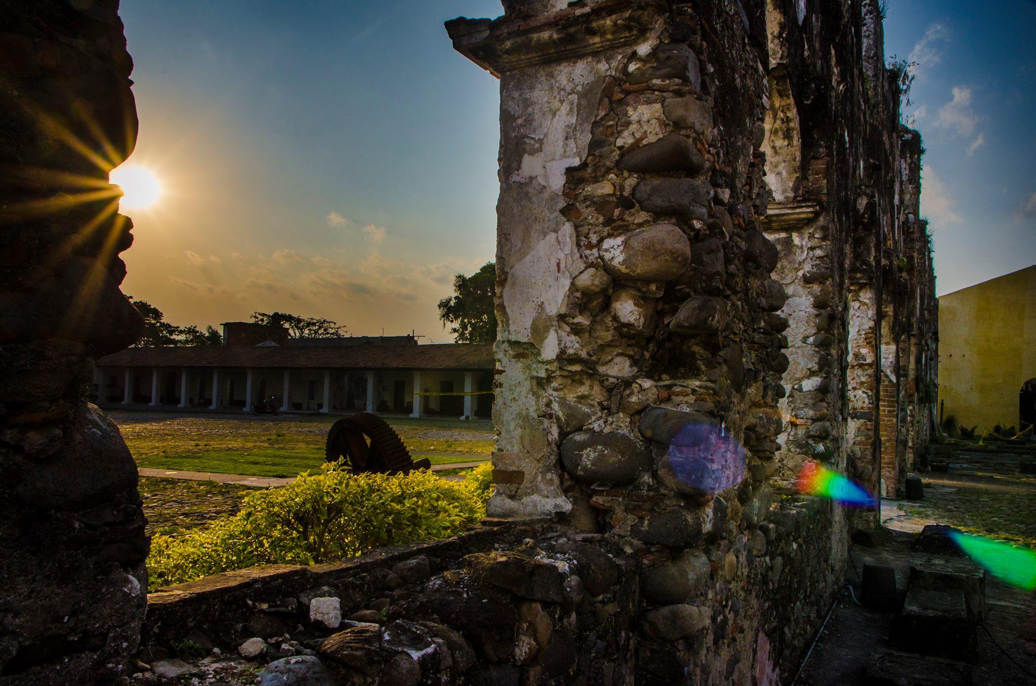 vista de la Ex Hacienda de Toxpan